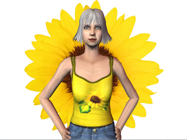 Haut Tournesol / Sunflower Top