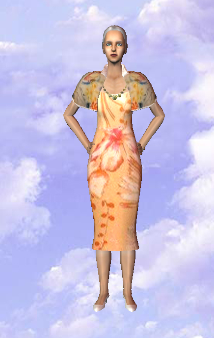 Robe Saumon / Salmon Dress
