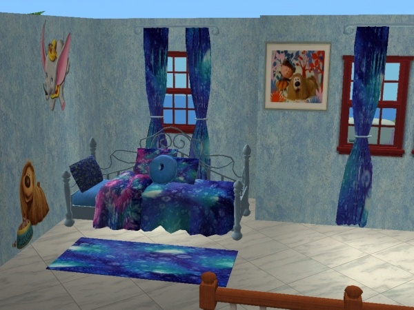 Chambre SIP3 Bleu  / Blue SIP3 bedroom