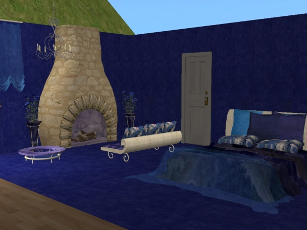 Chambre SIP5 Bleu  / Blue SIP5 bedroom
