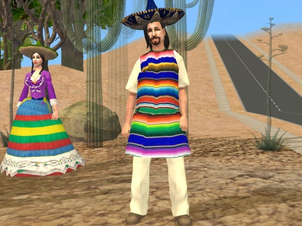 Tenues Mexicaines / Mexican Outfits